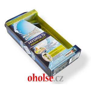 WILKINSON HYDRO5 POWER SELECT holicí strojek + 1 žiletka + baterie AAA