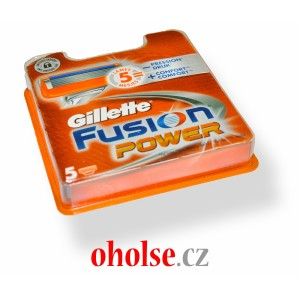 GILLETTE FUSION POWER žiletky 5 ks (FUSION5 POWER)
