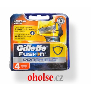 GILLETTE FUSION PROSHIELD 4 kusy