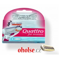 WILKINSON QUATTRO blades for women 3